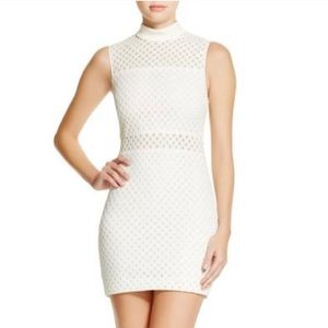 Elizabeth and James Neri Sleeveless Lattice Dress